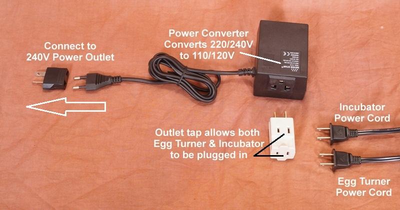 Incubator Power Converter Picture