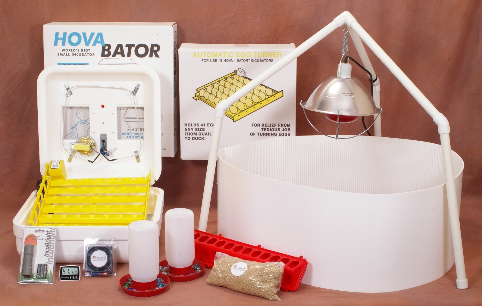 Incubator/Brooder Combo Kit