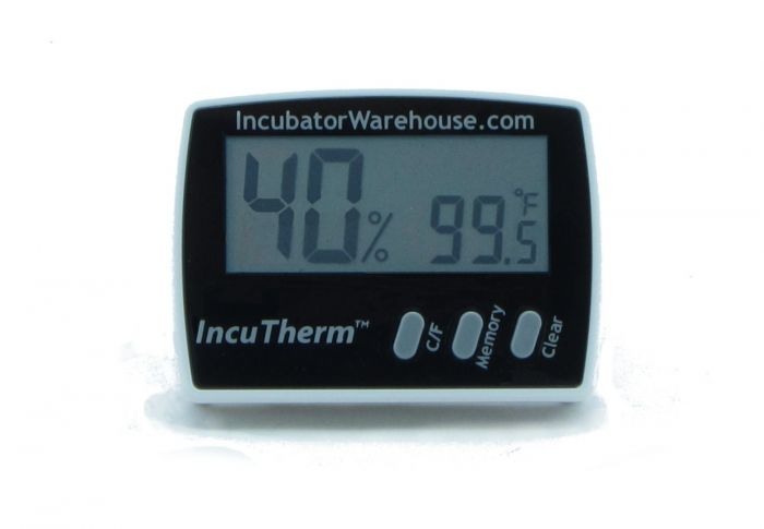Digital Thermometer Hygrometer Humidity Monitor Probe for Egg Incubator Hive