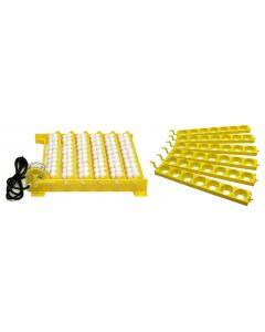 Hova Bator Automatic Egg Turner w/ 6 Universal & 6 Quail Egg Racks