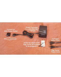 220/240V Voltage Converter Kit