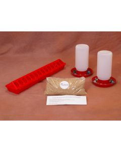 Universal Poultry & Bird Feeder & Waterer Kit