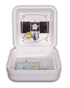 [Pre-Installed Fan Kit] Hova Bator Egg Incubator 1602N with Circulated Air Fan Kit