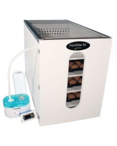 IncuView™ XL All-In-One Egg Incubator Cabinet with Automatic Humidity Control