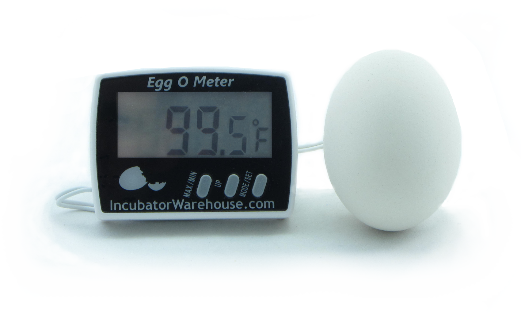 Egg-O-Meter™ Egg Incubator Hatching Thermometer