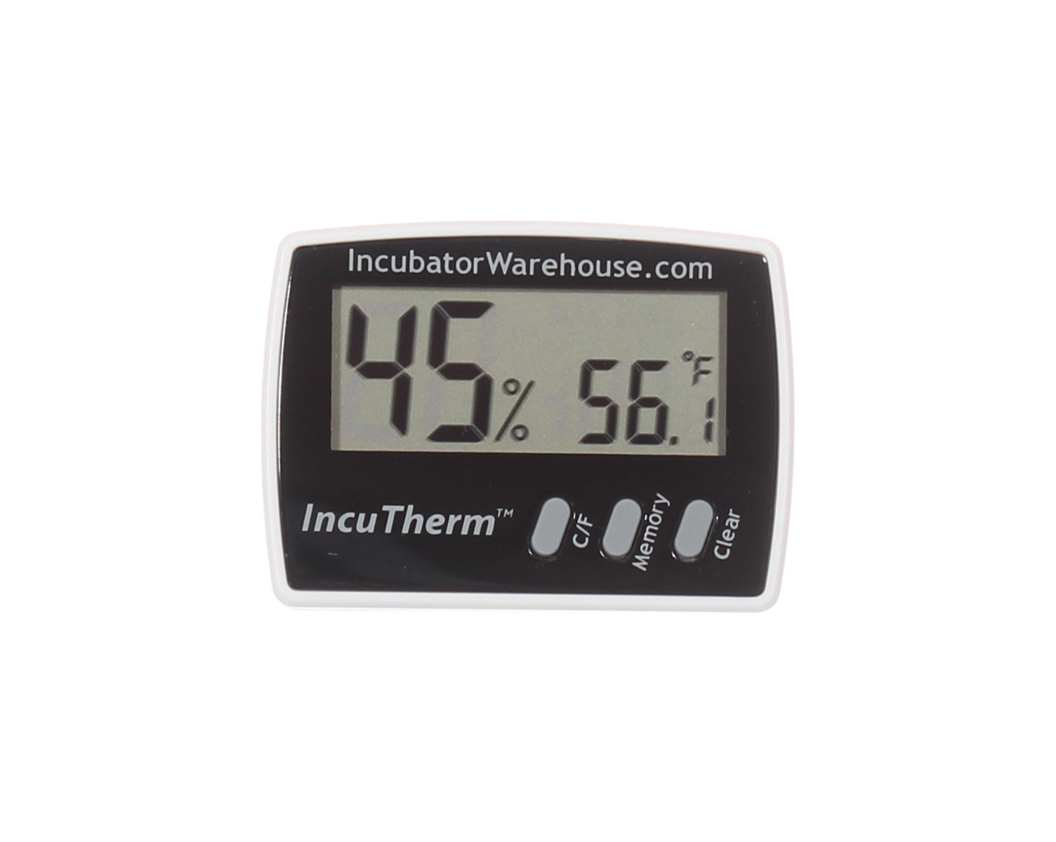 IncuTherm™ Digital Thermometer/Hygrometer w Min/Max Memory